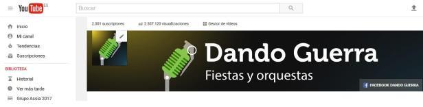 Portada youtube